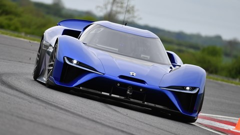 The Nio EP9: electric cars don't come any more serious than this