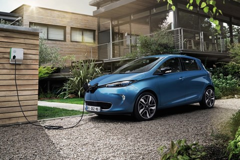 Renault Zoe: now with bigger battery power