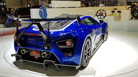 Zenvo TSR-S at Geneva 2019 motor show - rear view