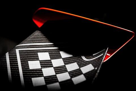 Zenvo TSR-S rear spoiler detail