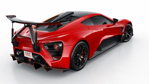 Zenvo TSR-S rear wing