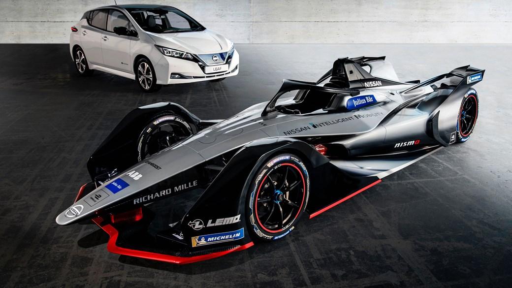 Nissan's Formula E car breaks cover