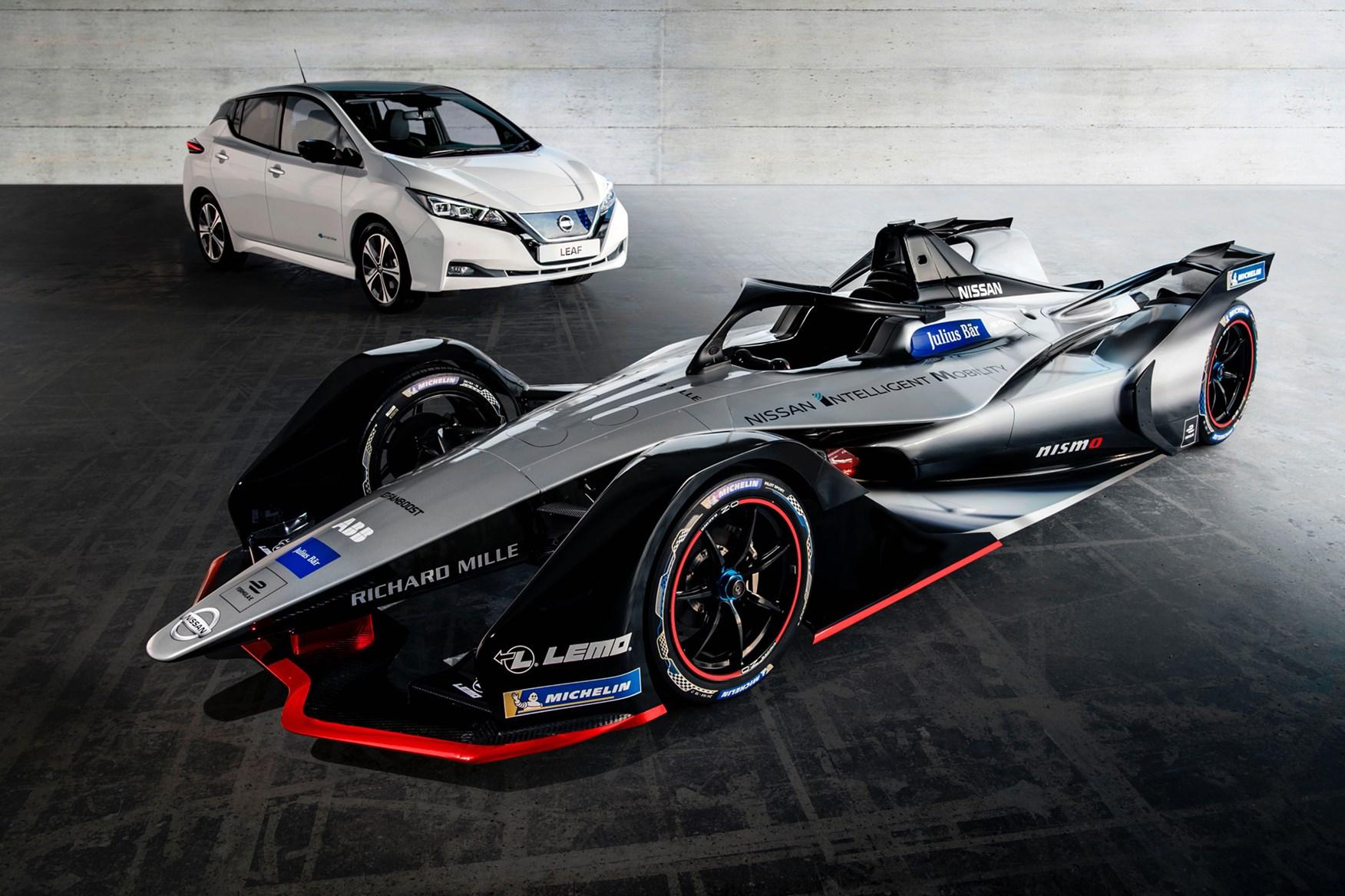 Formula E Car Battery