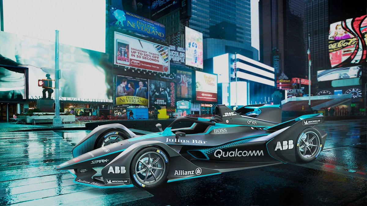 This is Formula E's wild new racer, and it has a halo