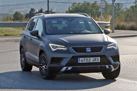 We've already scooped the Seat Ateca Cupra