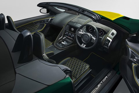 Lister LFT-C interior
