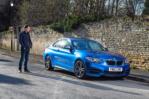 Chris Chilton meets our BMW M235i long-term test car