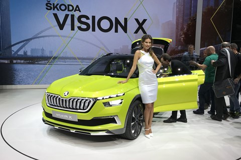 Skoda Vision X crossover concept car: inspiration for the new small SUV