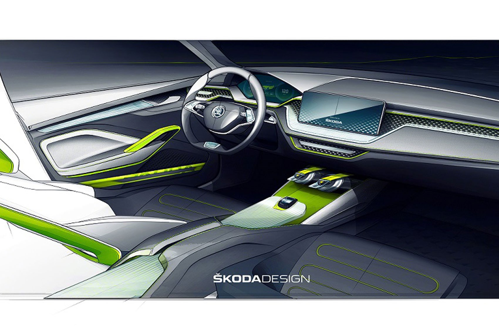 Skoda Vision X Concept Suv Pics Specs And Details By Car