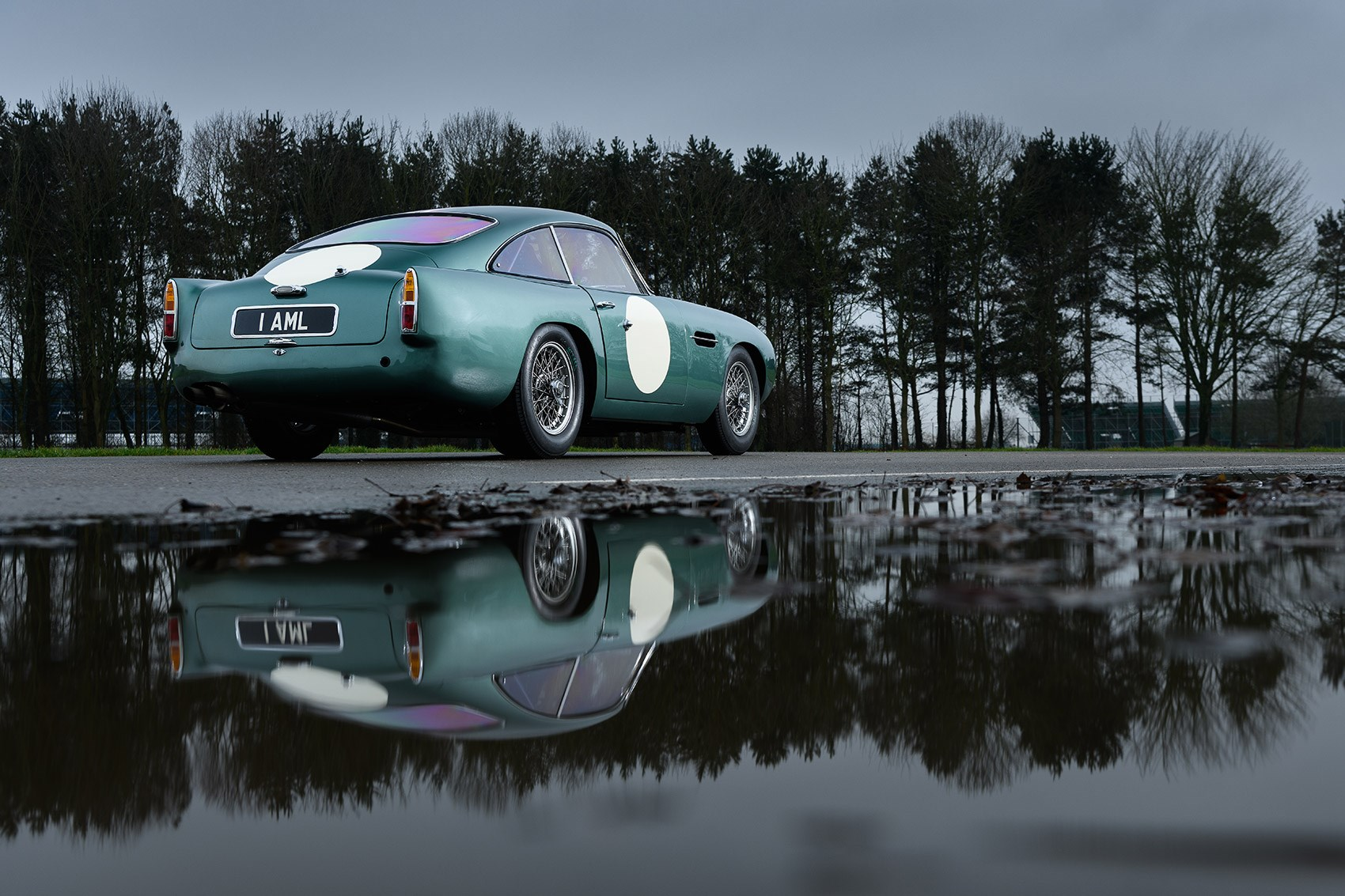The Aston Martin DB4 GT Continuation: rear three-quarters