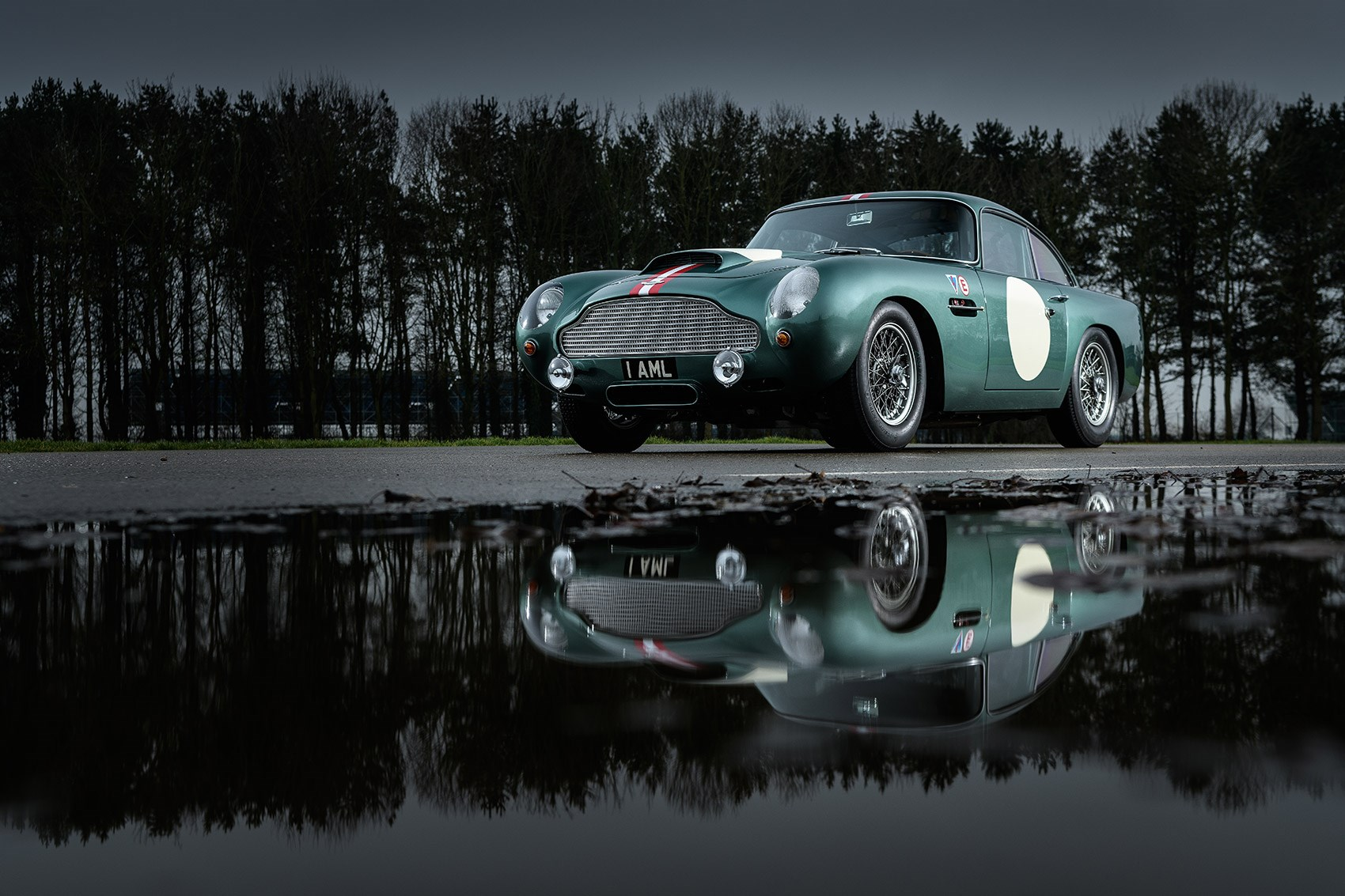 The new 2018 Aston DB4 GT Continuation sports car