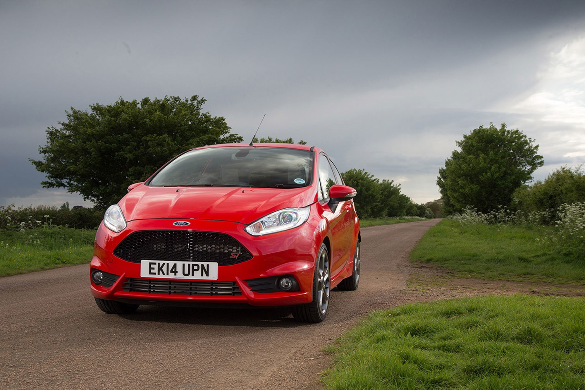 A fond farewell to our ford fiesta st