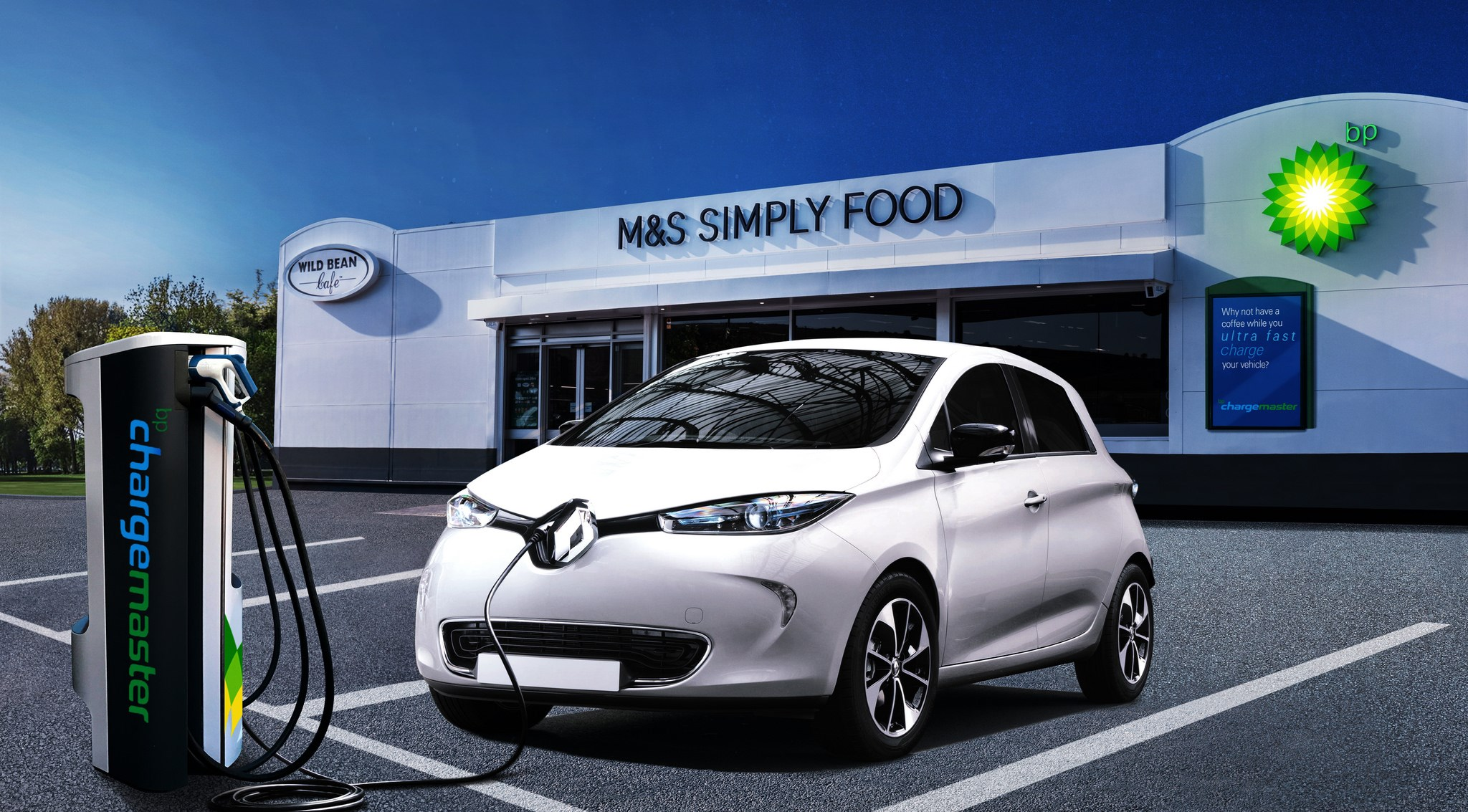 Tesco And Vw Team Up To Roll Out 2400 Ev Charging Points