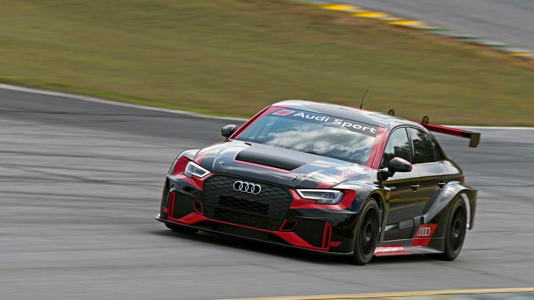Audi RS3 LMS touring car track test | CAR Magazine