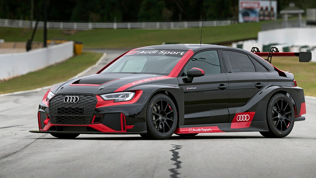 Audi RS3 LMS touring car track test by CAR Magazine
