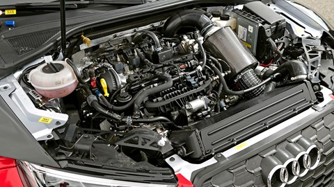 Audi RS3 LMS engine