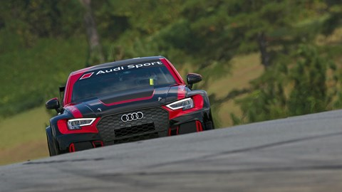 Audi RS3 LMS touring car track test