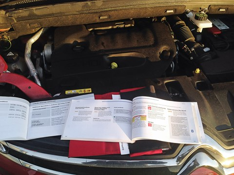We had to fill up AdBlue exhaust treatment at 16,000 miles; the manual says not needed until 20,000 miles