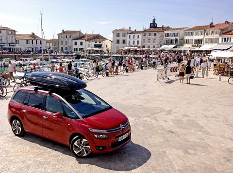 Our Citroen C4 Grand Picasso on holiday in France