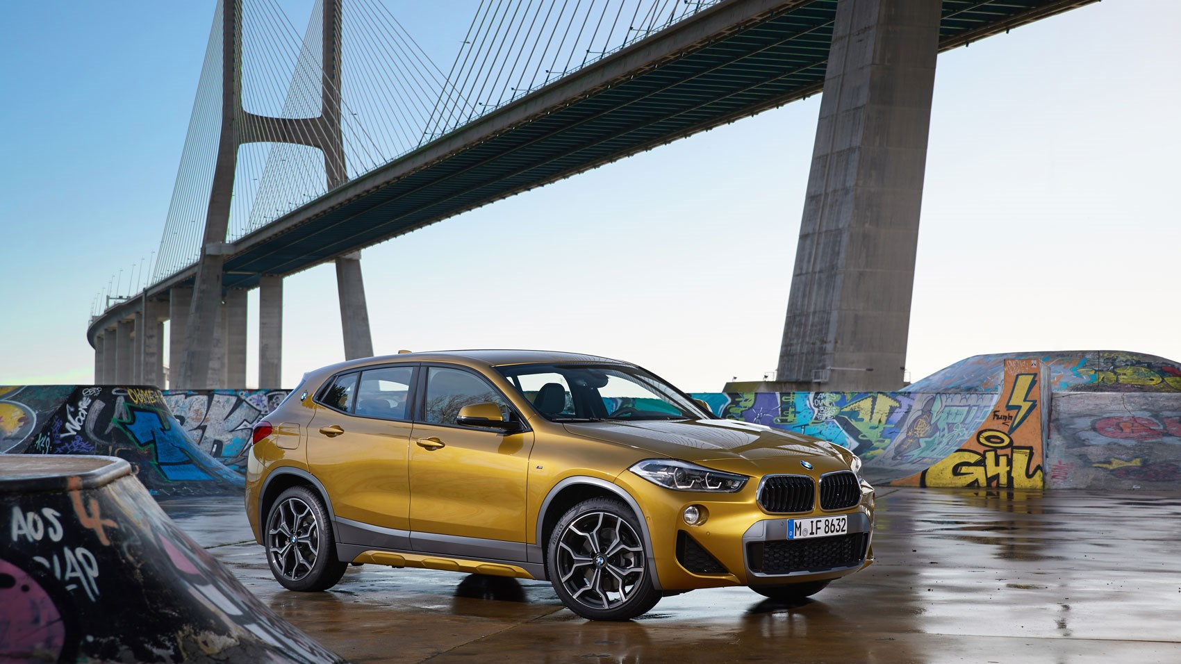 BMW X2 front