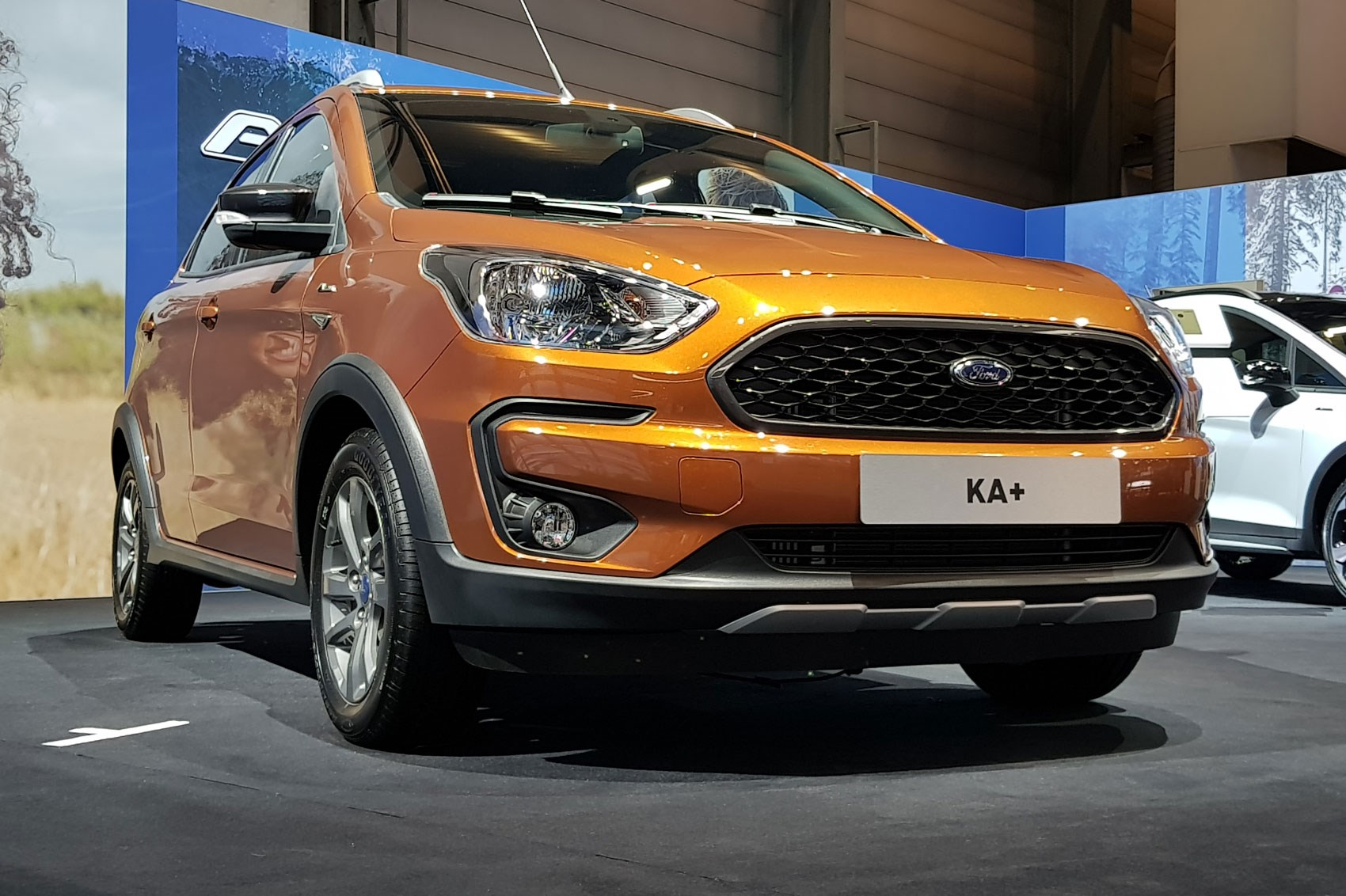 Ford Ka Active Soft Roader Looks For Blue Ovals Smallest Hatch