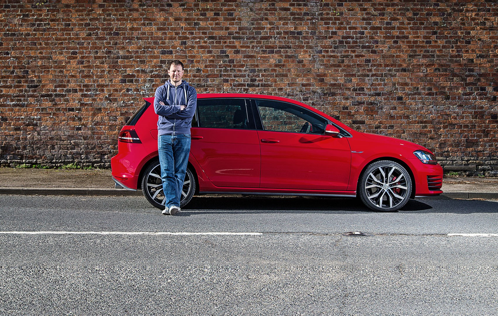 Mark Walton bids his Golf GTI farewell