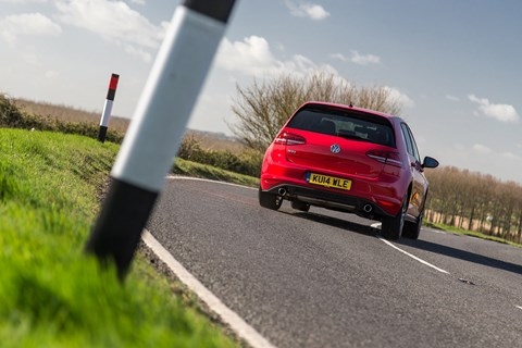 A corner carver: our VW Golf GTI Mk7 doing what it does best