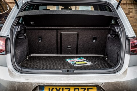 Boot space and dimensions of the VW Golf GTE plug-in hybrid