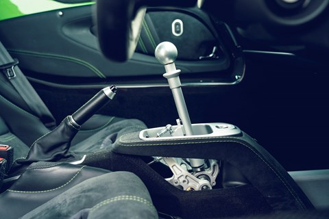 lotus exige cup 430 gearshift