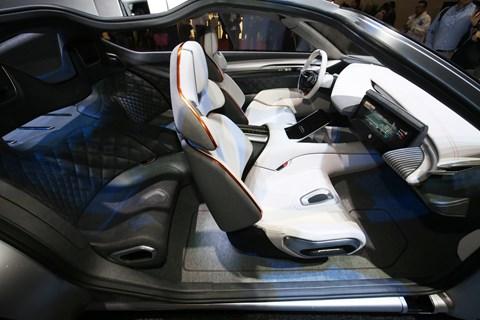 PIninfarina HK GT cabin