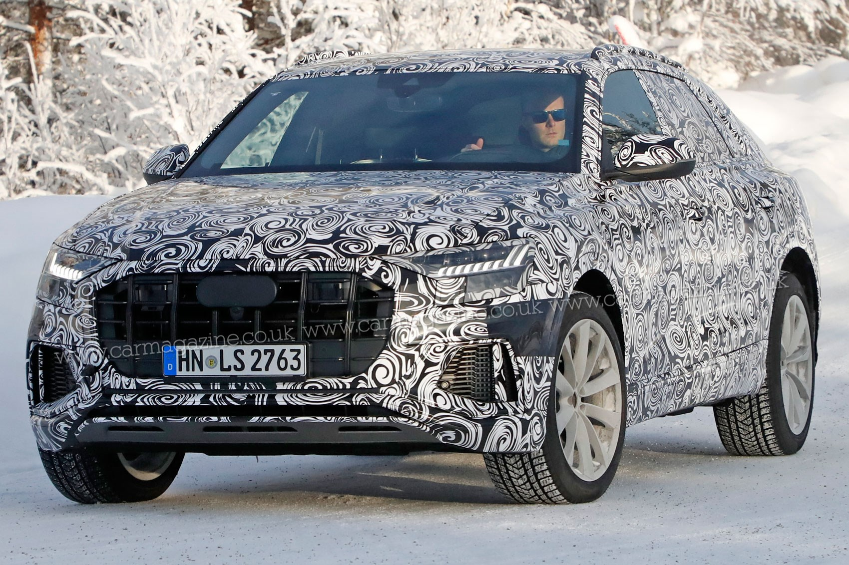 RS Q8 spotted at the Ring Audi s flagship SUV s hotter
