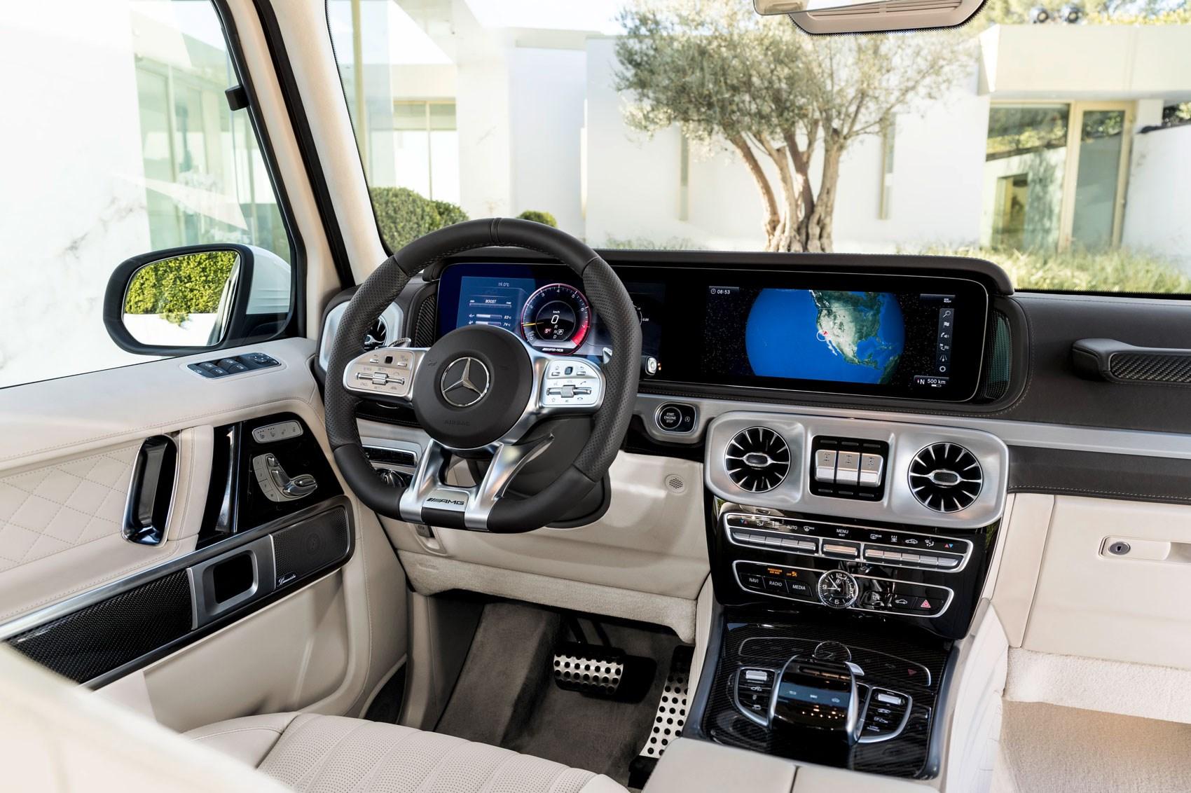 New Mercedes Amg G63 Behemoth 4x4 Gets A 577bhp Affalterbach
