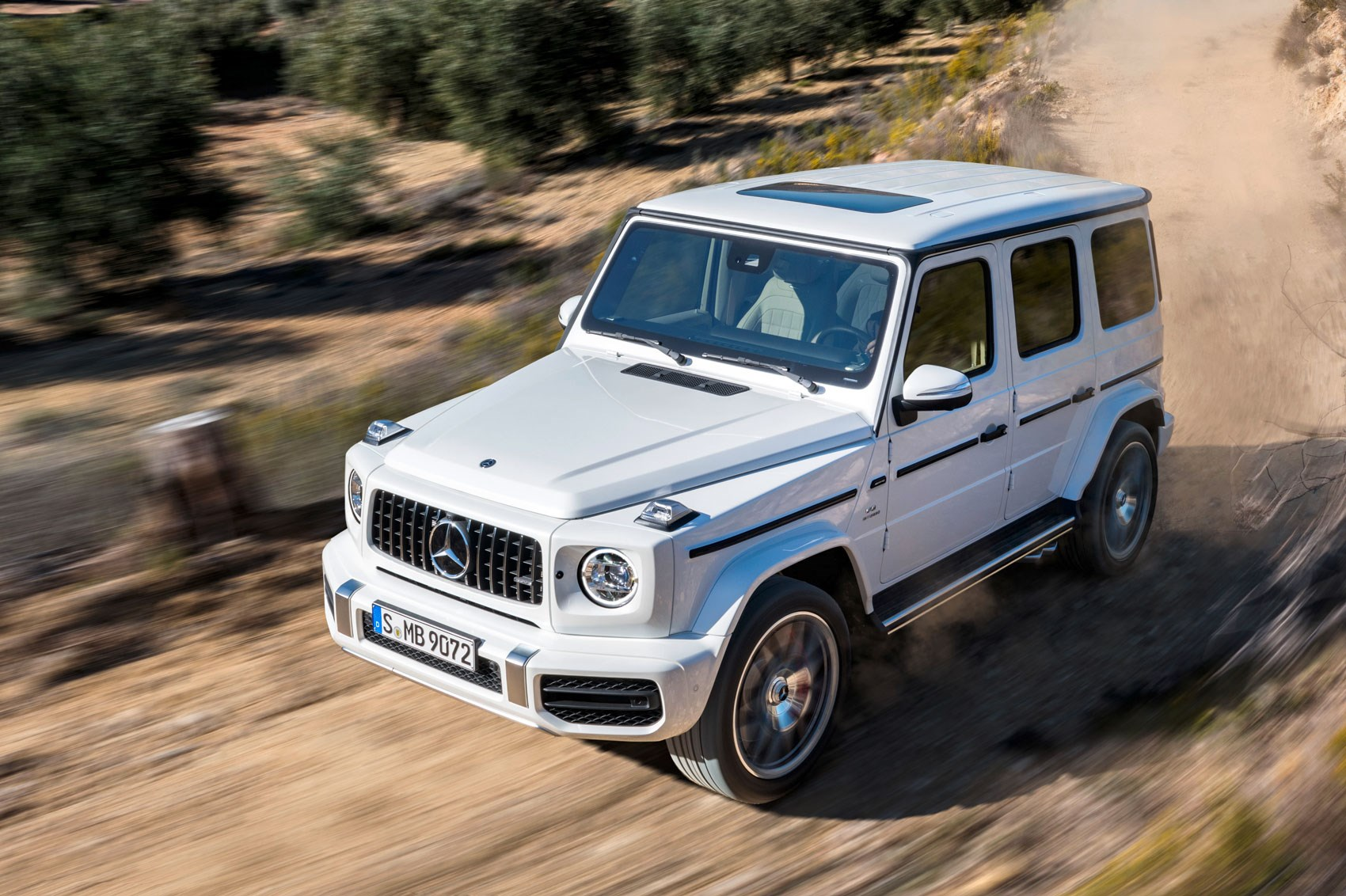 new mercedes amg g63 behemoth 4x4 gets a 577bhp affalterbach makeover car magazine. Black Bedroom Furniture Sets. Home Design Ideas