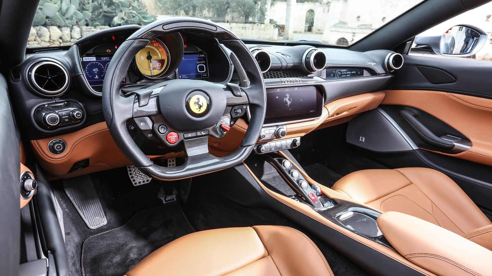 ferrari portofino 2018 review california is so last year car magazine. Black Bedroom Furniture Sets. Home Design Ideas