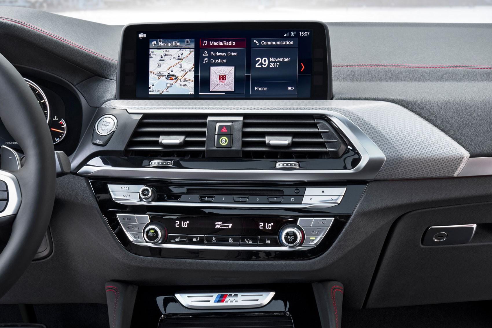 Bmw X4 2018 Interior >> Generation X Hot Bmw X4 M40i Coming To New York Show Car Magazine