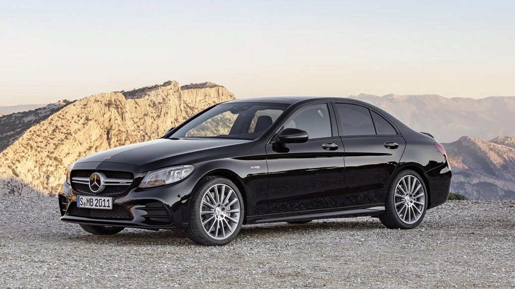 new mercedes c-class 2018: facelifted amg c43 coupe and cabrio
