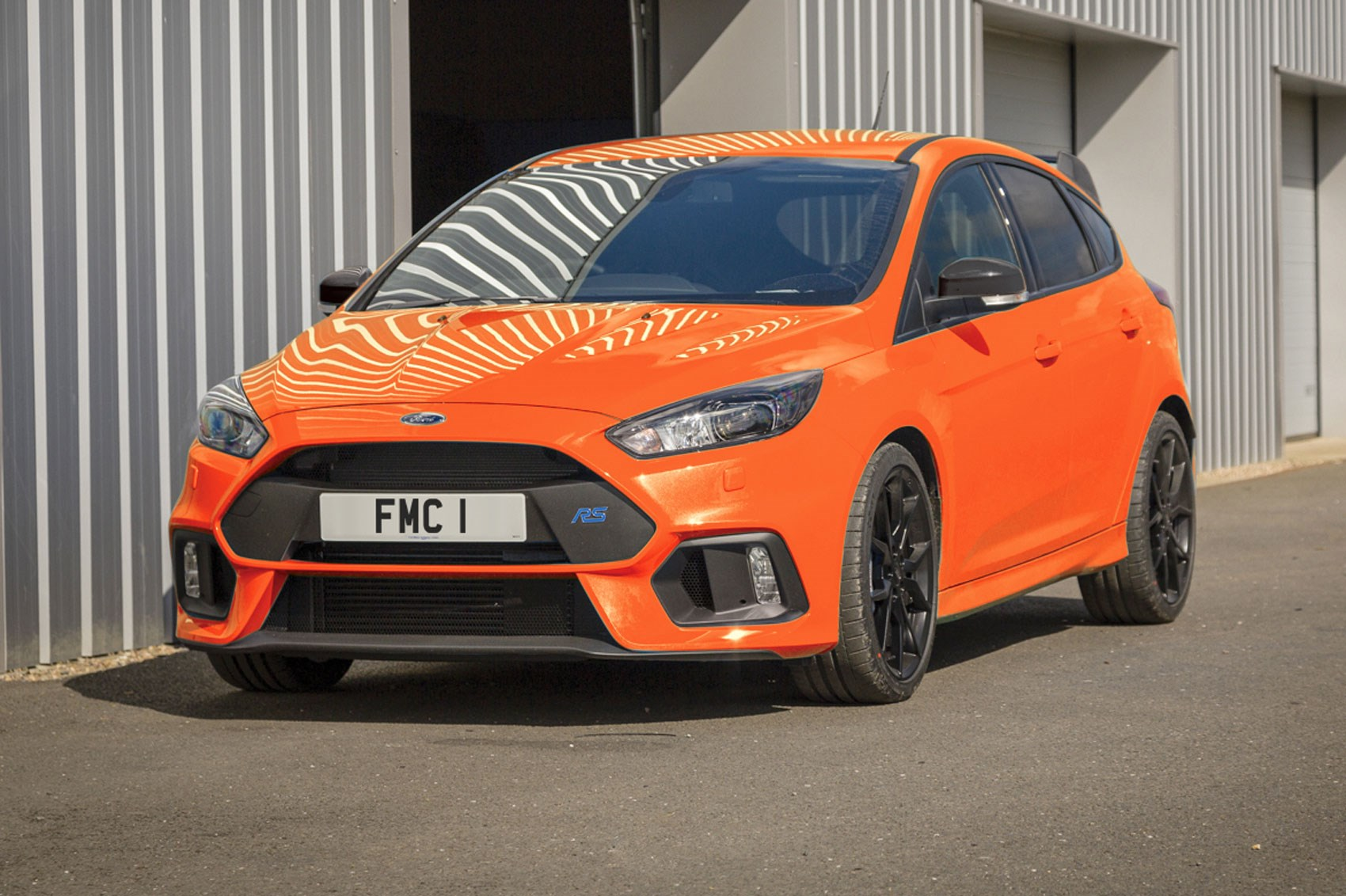 Ford focus rs heritage edition is hot hatchs final farewell