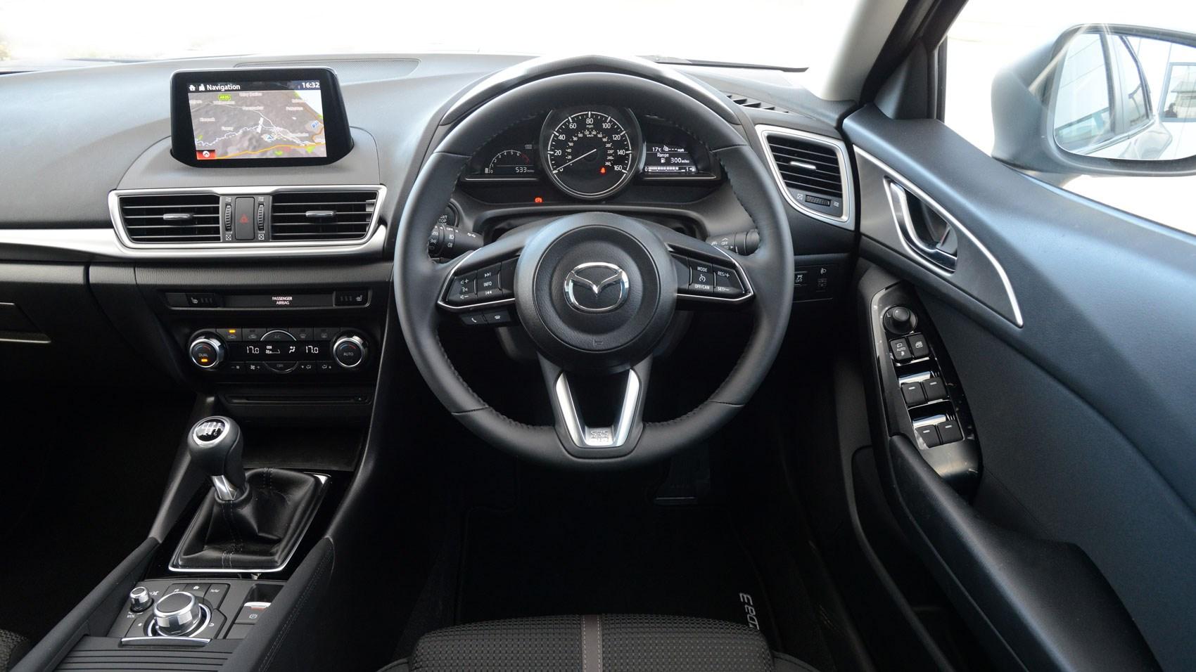 Mazda 3 Fastback interior