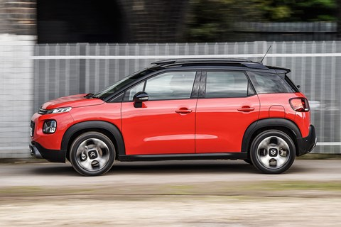 Citroen C3 Aircross side pan