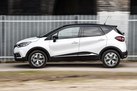 Renault Captur side pan