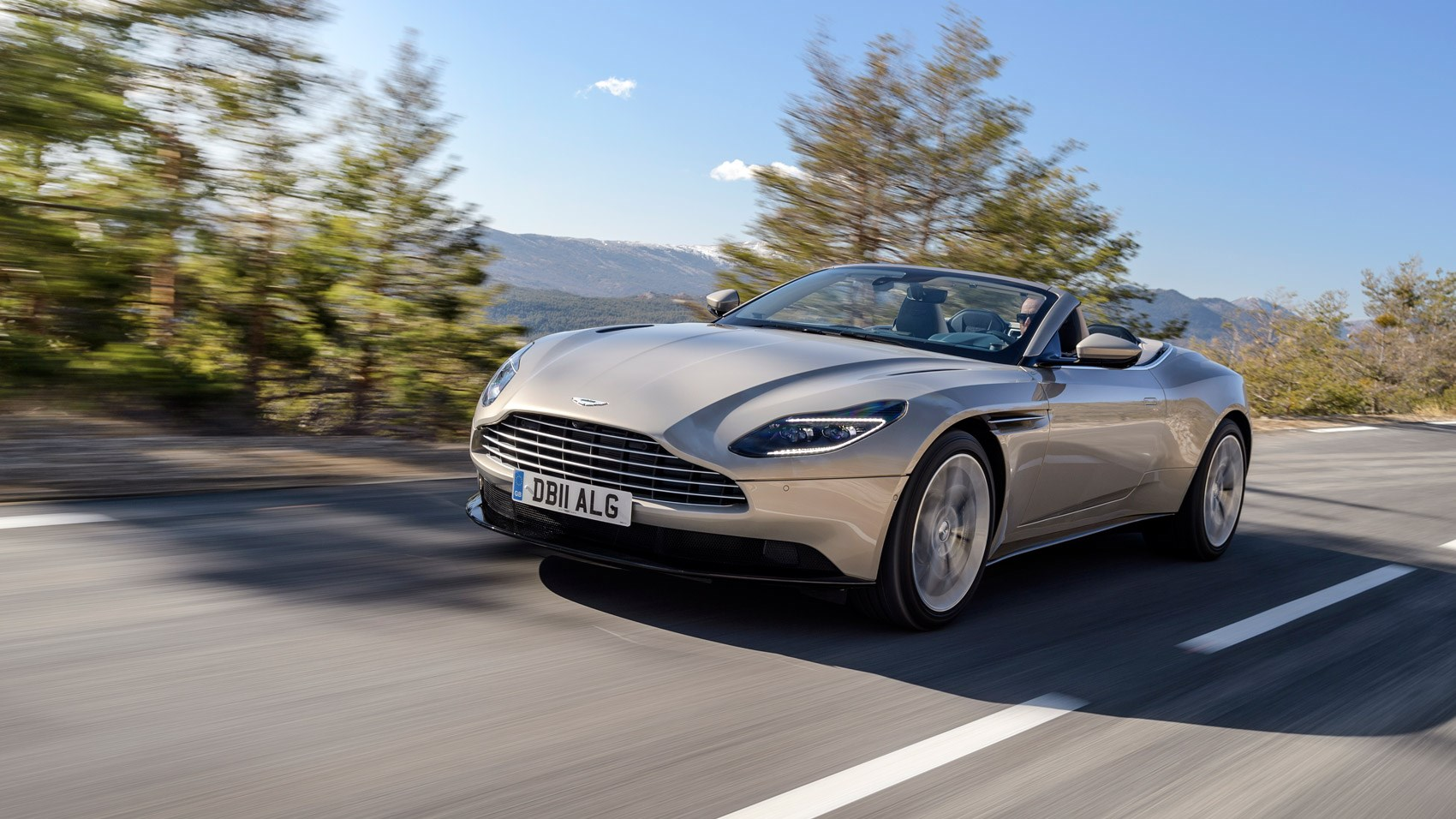 aston martin db11 volante review 2018 | car magazine