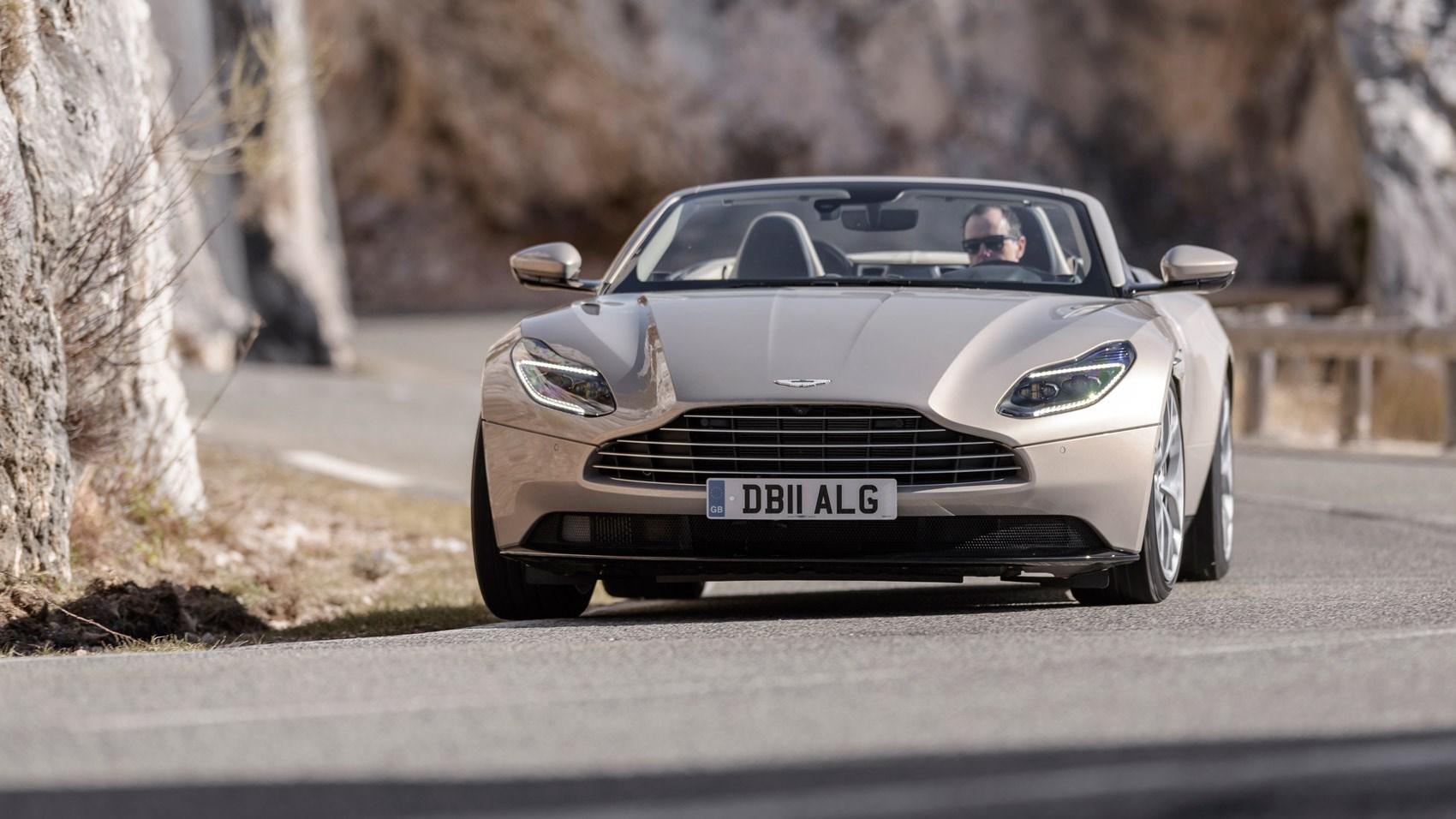 Aston Martin Db11 Volante Review 2018 Car Magazine