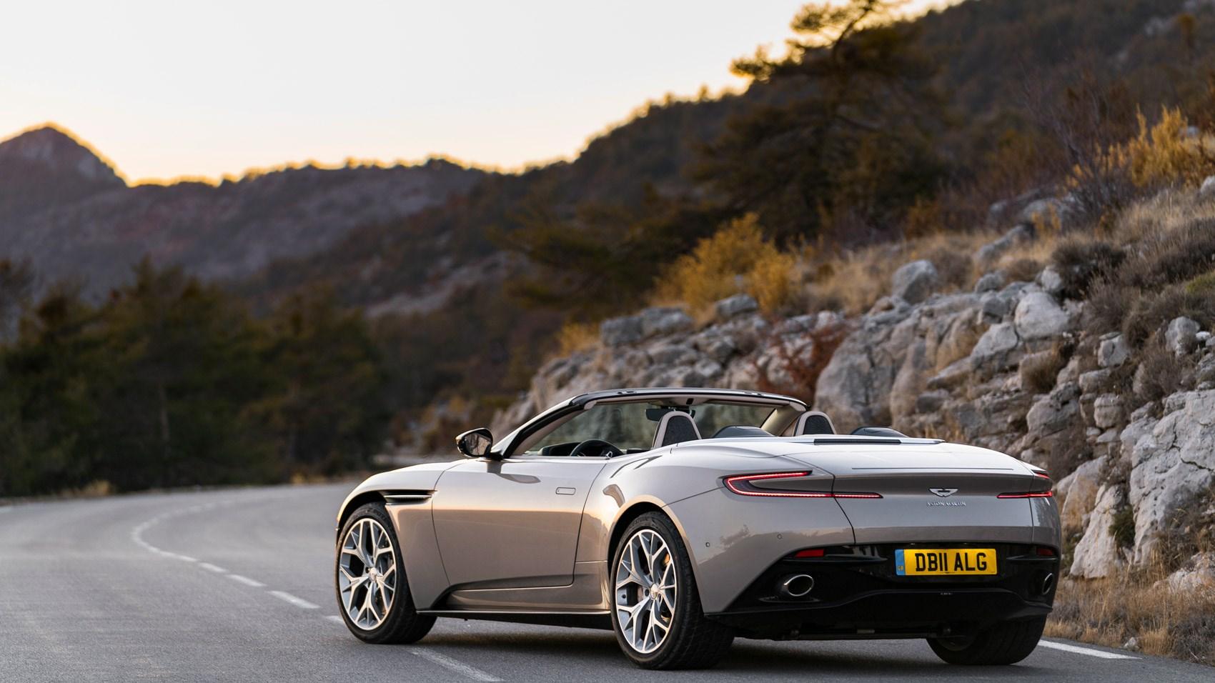 Aston Martin Gt8 >> Aston Martin DB11 Volante review 2018 | CAR Magazine