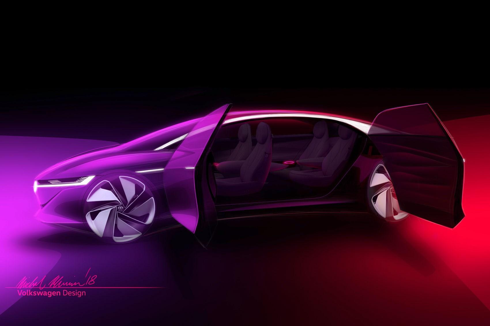 Volkswagen ID Vizzion electric concept set for Geneva premiere