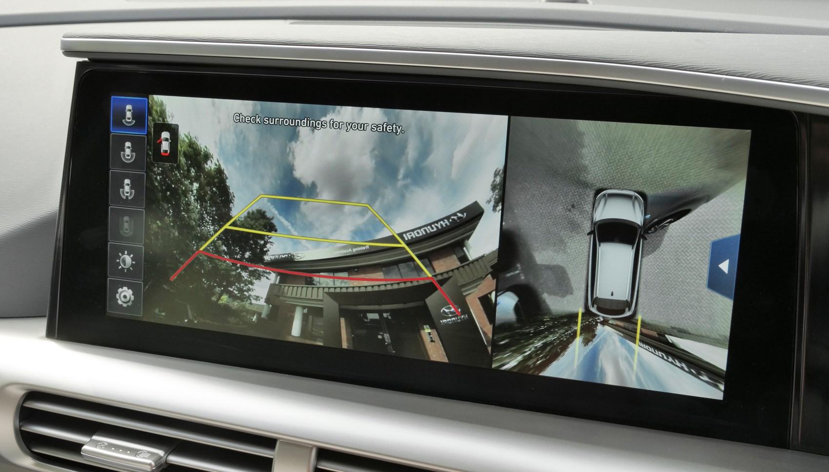 Hyundai NEXO screen