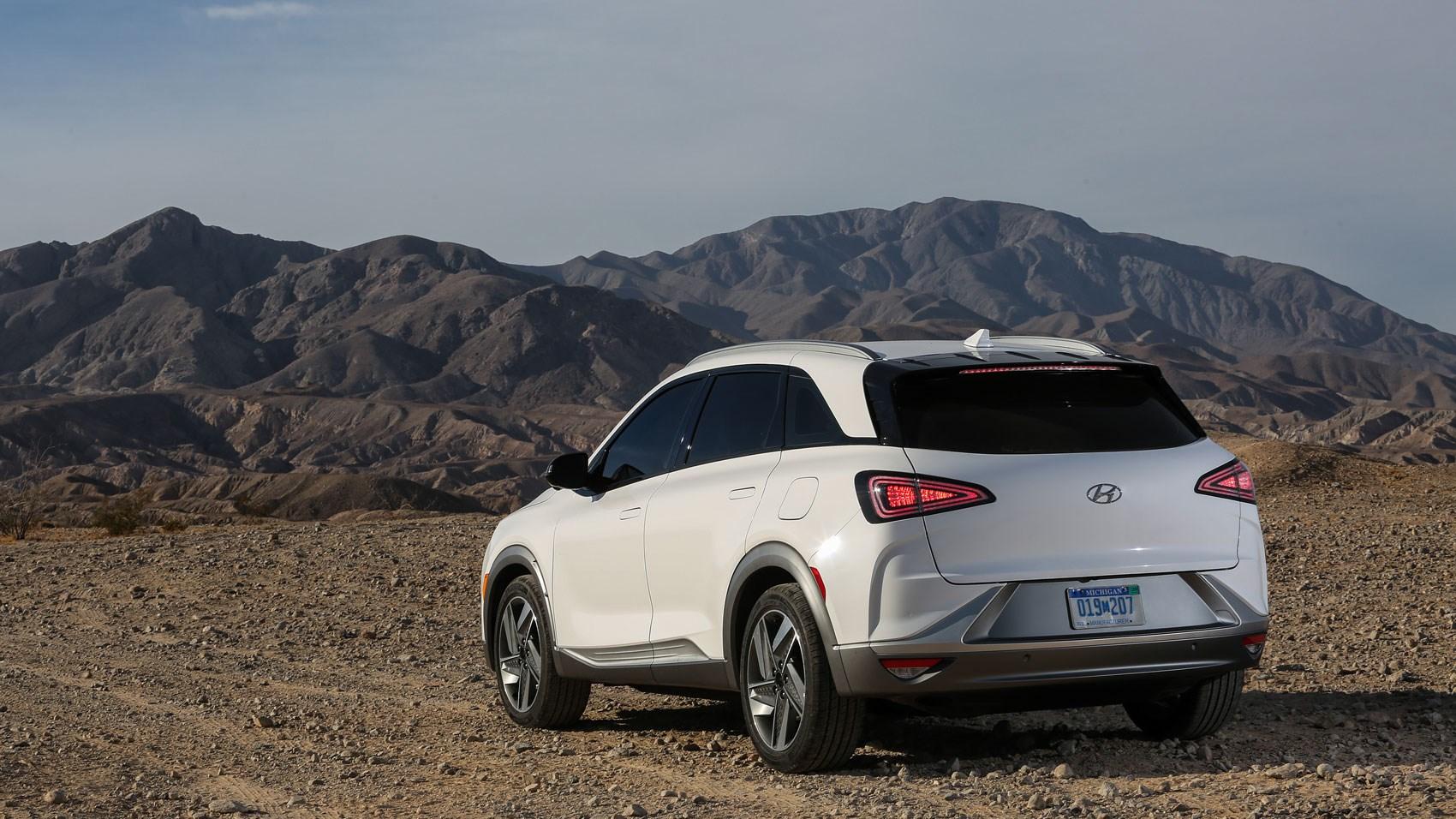 Hyundai Nexo rear quarter