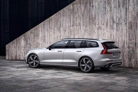 Volvo V60 R-Design rear