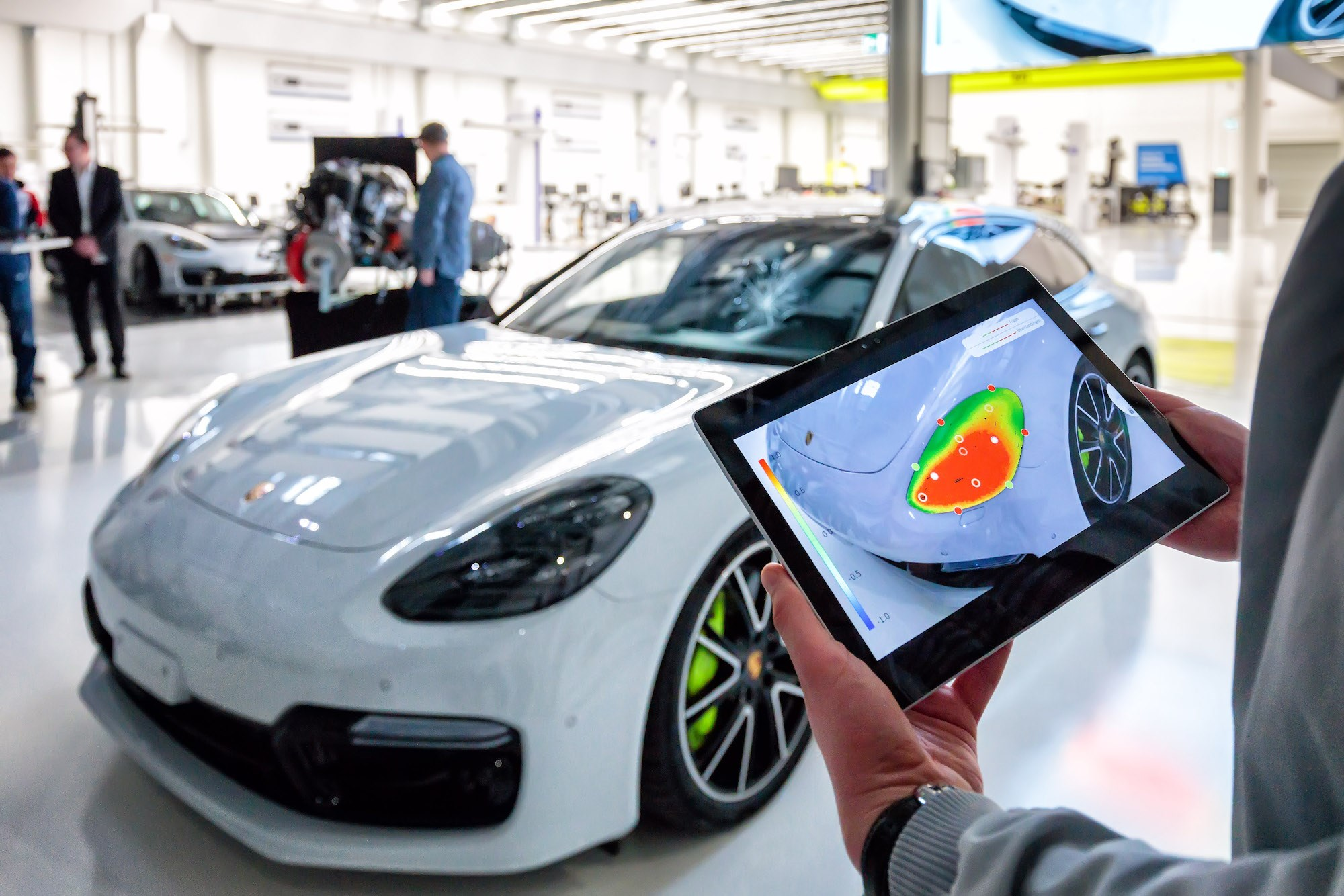 Welcome to the Inno-Space: inside Porsche's tech ...