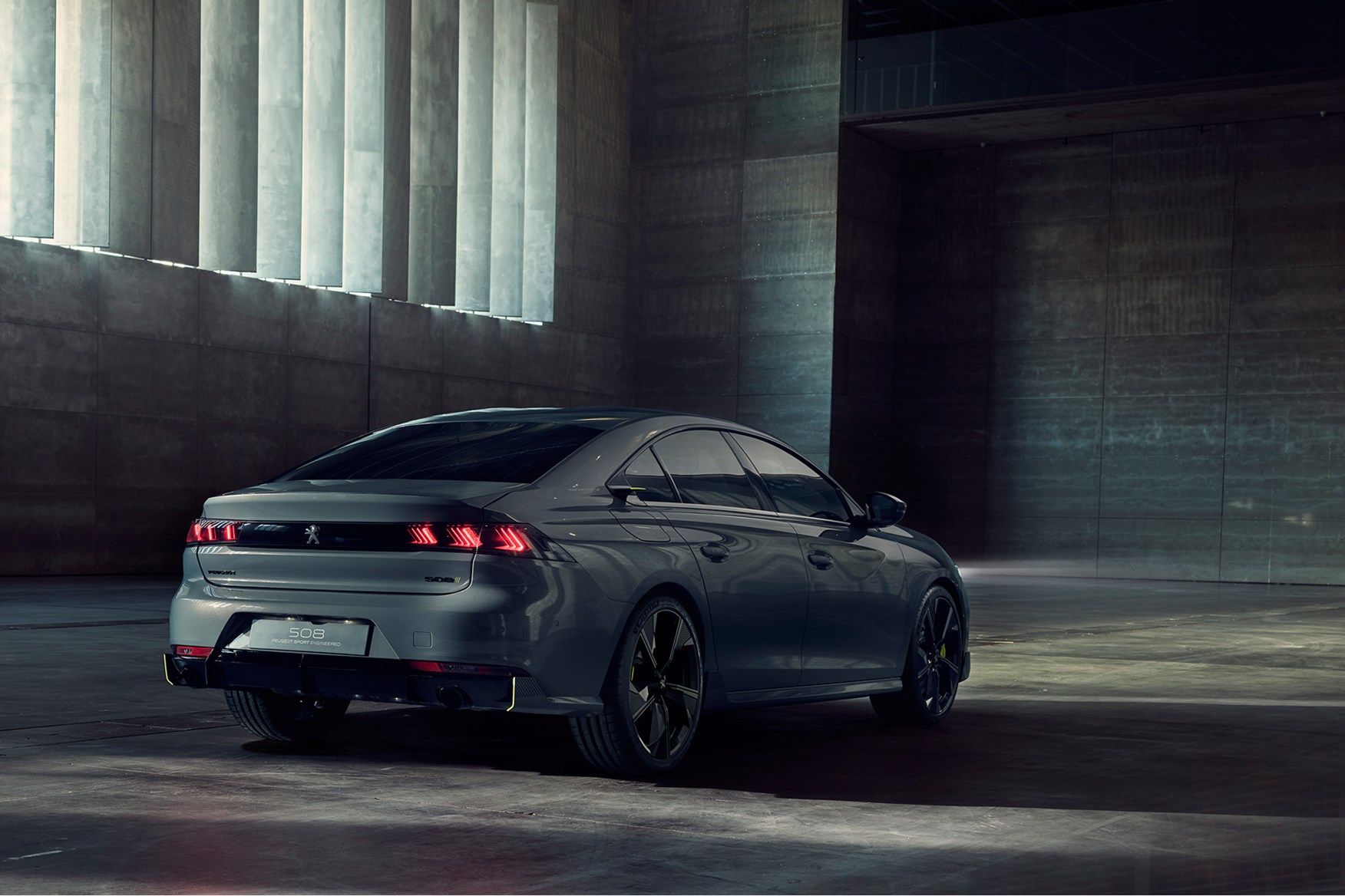 peugeot 508 sport engineered concept  first of fast phevs