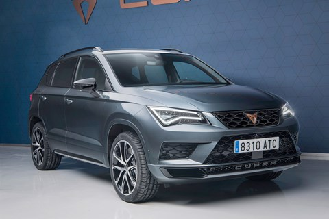 The new 2018 Cupra Ateca: due at the Geneva motor show in March